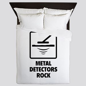 Metal Detectors Rock Queen Duvet