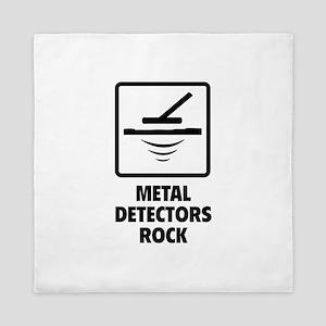 Metal Detectors Rock Queen Duvet