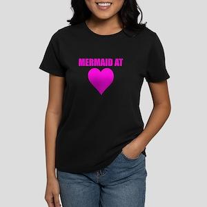 Mermaid at heart Women's Dark T-Shirt