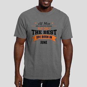 Legends Are Born In June Mens Comfort Colors Shirt