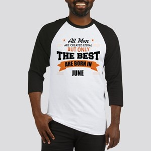 Legends Are Born In June Baseball Jersey