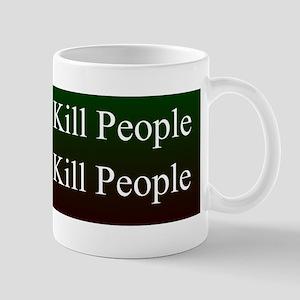 Zombies kill people Bumper Sticker Mug