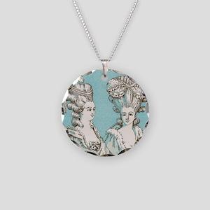 Versailles Necklace Circle Charm