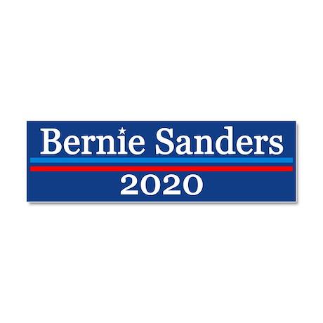 bernie sanders 2020 car magnet 10 x 3 by election2020