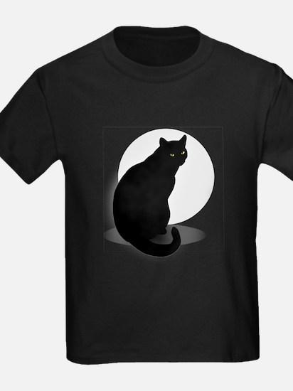 Basic Black Cat T