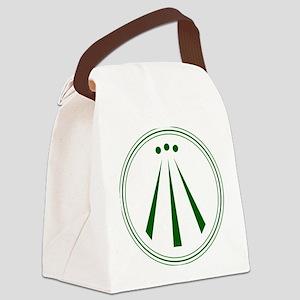 Awen Green Canvas Lunch Bag