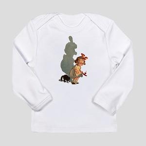 scared girl Long Sleeve T-Shirt