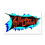 Poppermost Breakthru Car Magnet 12x20
