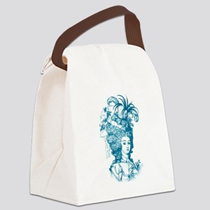 Versailles blue Canvas Lunch Bag