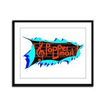 Poppermost Breakthru Framed Print 13x16