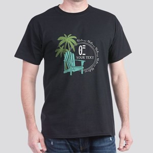 Theta Xi Beach Dark T-Shirt