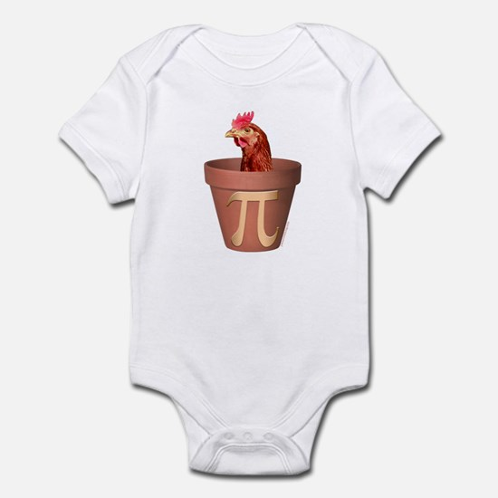 Chicken Pot Pi Infant Creeper