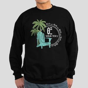 Theta Xi Beach Sweatshirt (dark)