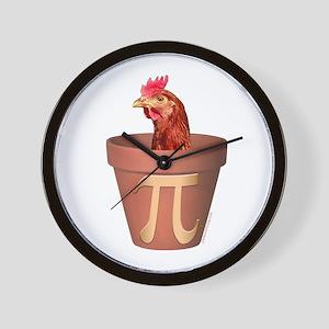 Chicken Pot Pi Wall Clock
