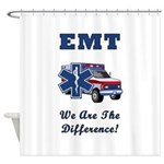 EMT We Are The Difference Shower Curtain
