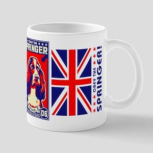 Obey the SPRINGER Spaniel! Coffee Mug