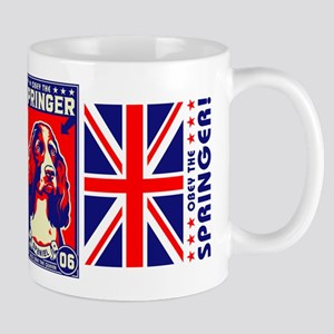 Obey the SPRINGER Spaniel! Coffee Mug