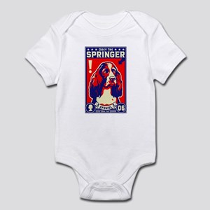 Obey the SPRINGER Spaniel! Baby creeper