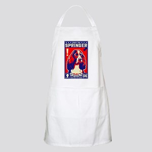 Obey the SPRINGER Spaniel! BBQ Apron