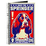 Obey the SPRINGER Spaniel! Journal