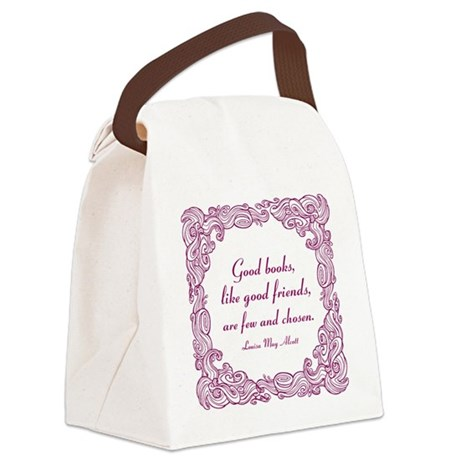 Good Books Canvas Lunch Bag