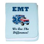 EMT We Are The Difference baby blanket