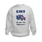 EMT We Are The Difference Kids Sweatshirt