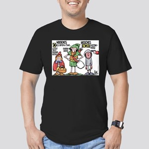 Bartholoviews Men's Fitted T-Shirt (dark)