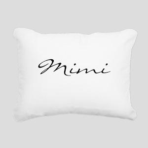Just Mimi Rectangular Canvas Pillow