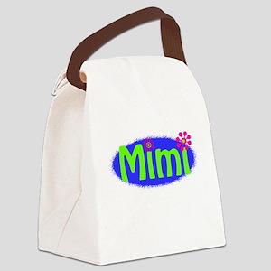 Bright Mimi Canvas Lunch Bag