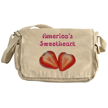America's Sweetheart Messenger Bag