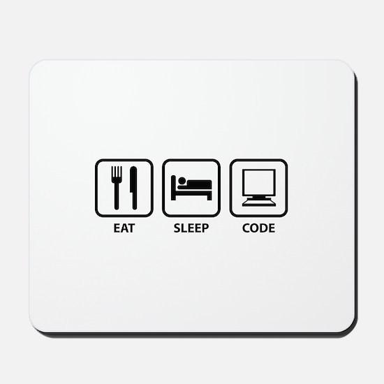 Eat Sleep Code Mousepad