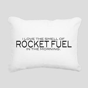 Rocket Fuel Rectangular Canvas Pillow