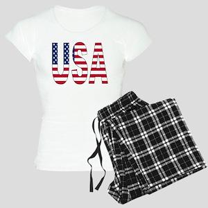 USA flag Women's Light Pajamas
