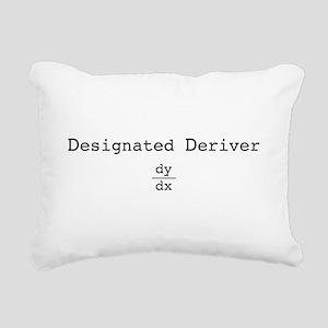 dd_blk Rectangular Canvas Pillow