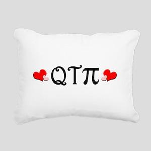 qtpiheart Rectangular Canvas Pillow