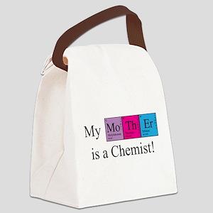 chem_mother_bk Canvas Lunch Bag