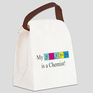 chem_husband_bk Canvas Lunch Bag
