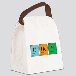 chem_chef Canvas Lunch Bag