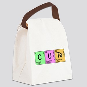 cute_color Canvas Lunch Bag