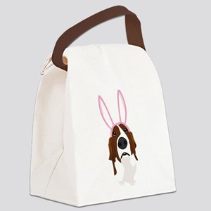 easter_basset_noback Canvas Lunch Bag