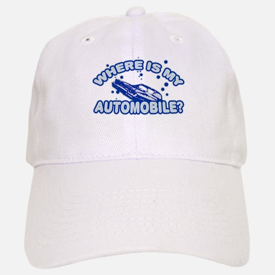 Where is my automobile? Baseball Baseball Cap