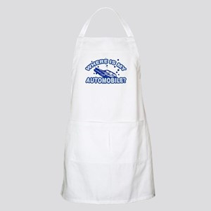 Where is my automobile? BBQ Apron