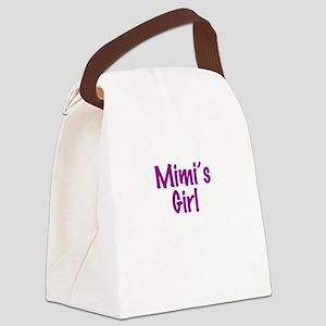 Mimis Girl Canvas Lunch Bag