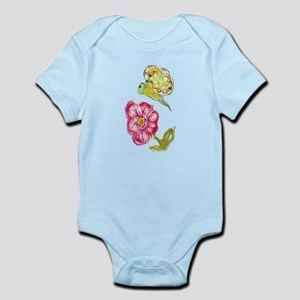 Butterfly Flower Infant Bodysuit
