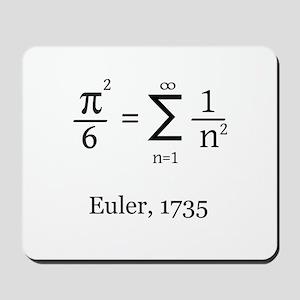 Eulers Formula for Pi Mousepad