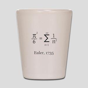 Eulers Formula for Pi Shot Glass