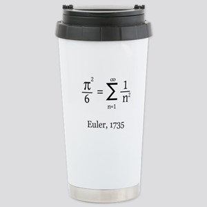Eulers Formula for Pi Stainless Steel Travel Mug