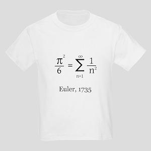 Eulers Formula for Pi Kids Light T-Shirt