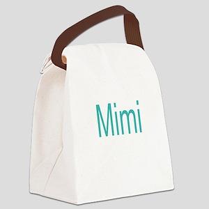 Mimi Block letters Canvas Lunch Bag